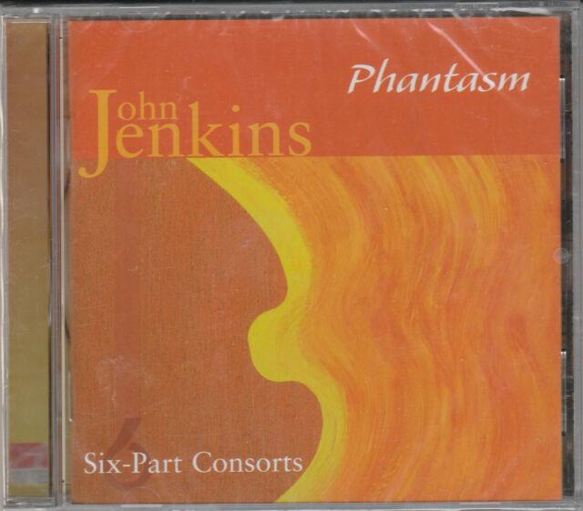 Phantasm- Jenkins: Six-Part Consorts BRAND NEW CD Free 1st Class UK P&P