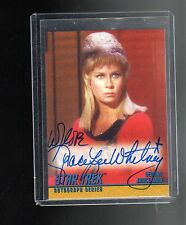Star Trek OS 1 A5 Grace Lee Whitney auto card
