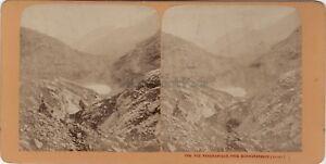 Vista-Panoramica-Pres-Schwarenbach-Suisse-Foto-Stereo-Vintage-Albumina-Ca-1870