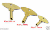 3 Keys Trademark Chelsea Brass Winding Clock Key 5 0 3 Keys Parts Brass