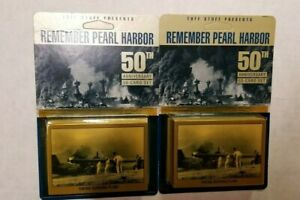 Remember-Pearl-Harbor-50th-Anniversary-Collectible-Trading-Card-2-Box-Set-LOT