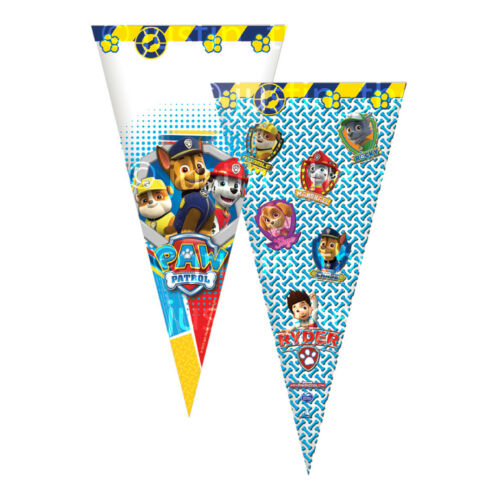 CONE Party Cello Bags Sweet Candy Cones Childrens Kids Birthday Gift Favours Bag