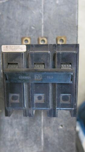 Challenger CBB3070H 3 Pole 70 Amp 240 Volt Circuit Breaker WARRANTY