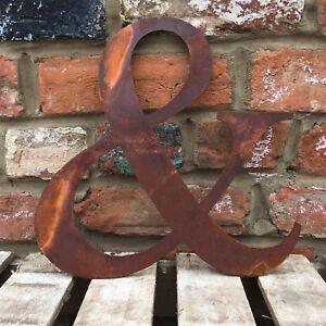 """& Classic 12"""" Rusty Metal Symbole House Shop Home Vintage Rétro Industriel Signe-afficher Le Titre D'origine"""