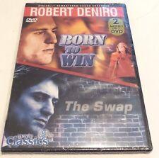Robert Deniro: Born to Win / The Swap (DVD, Slim Case) Ships within 12 hours!!!