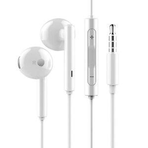 Original-Huawei-P10-P10-lite-P9-P9-Lite-Stereo-Headset-Kopfhoerer-AM115-Weiss