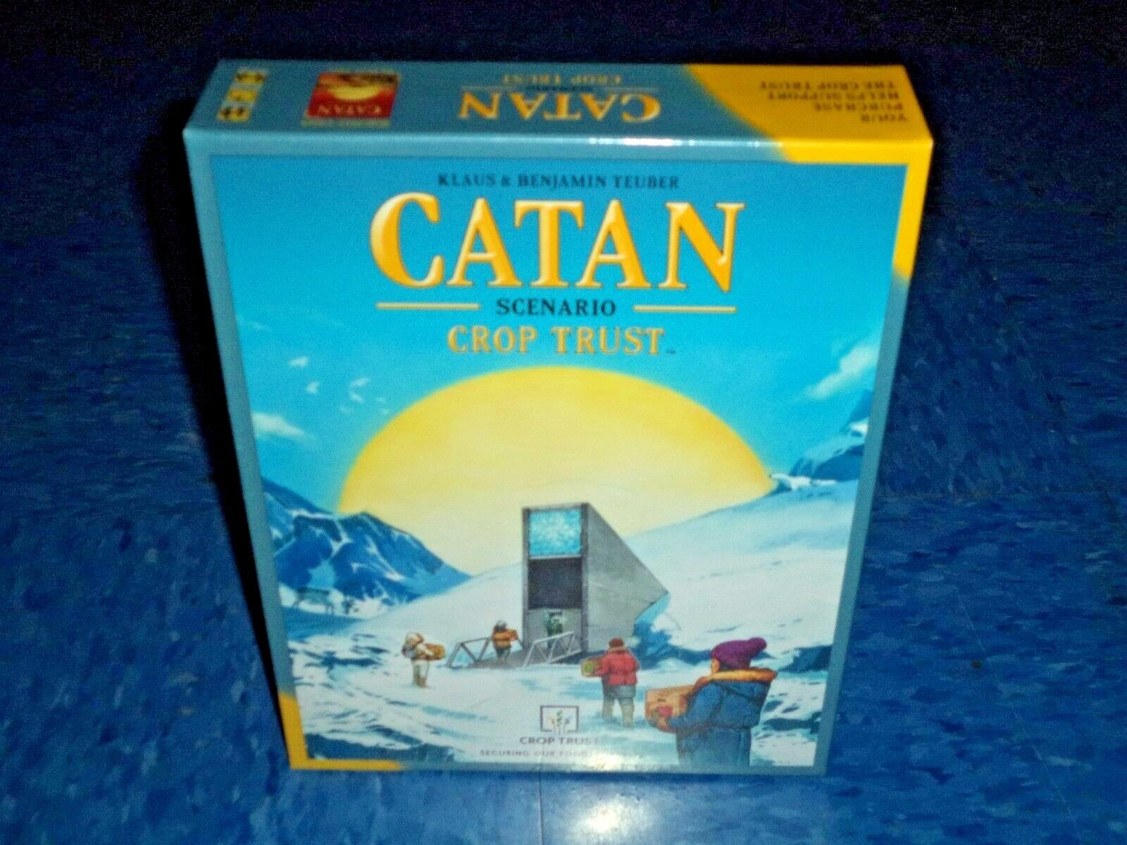 Crop Trust Catan Scenario Board Game Expansion New Settlers of Catan