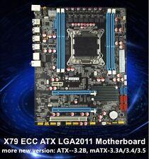 Intel X79 Motherboard LGA 2011 ATX DDR3 or ECC USB 3.0 SLI/CROSSFIRE I7/XEON COM