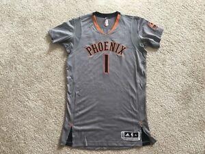 size 40 c1367 9be16 Details about Devin Booker - Rookie Phoenix Suns Pro Cut Authentic Rev 30  Mesh Jersey size XL