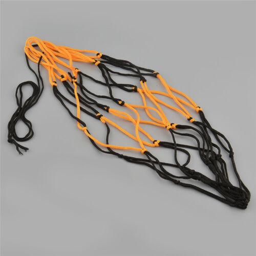 Nylon Net Bag Ball Carry Mesh Volleyball Basketball Football Soccer Useful YF