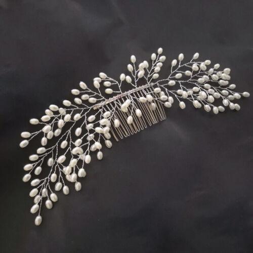 Fashion Bride Bridal Hair Comb Wedding Headwear Women Hair Accessories Decor US