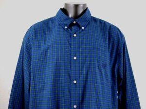 CHAPS-Easy-Care-Men-039-s-Long-Sleeve-Shirt-Size-3XLT