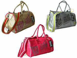 Image Is Loading Lonsdale Ladies Gym Bag Holdall Gold Pink Silver
