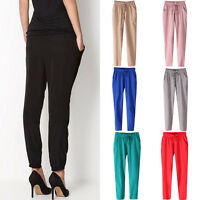 Women's Joggers Trousers Ladies Tracksuit Bottoms Jogging Gym Pants Lounge Wear