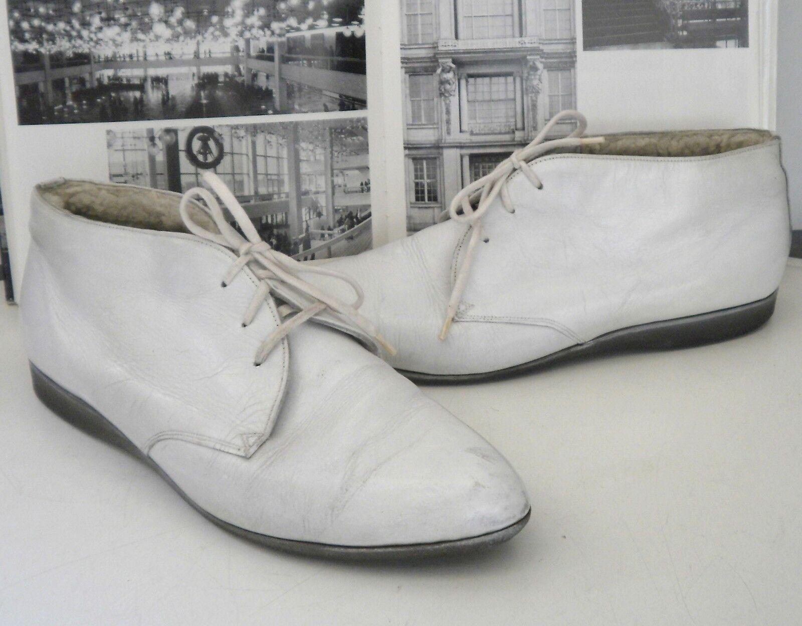 Señora semi zapato schnürzapatos 60er True vintage botas botas botas botín zapatos Snow  calidad oficial