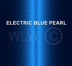 Electric Blue Pearl Heat Resistant Paint Brake Caliper