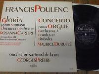 FCX 882 Poulenc Gloria / Organ Concerto / Pretre etc.