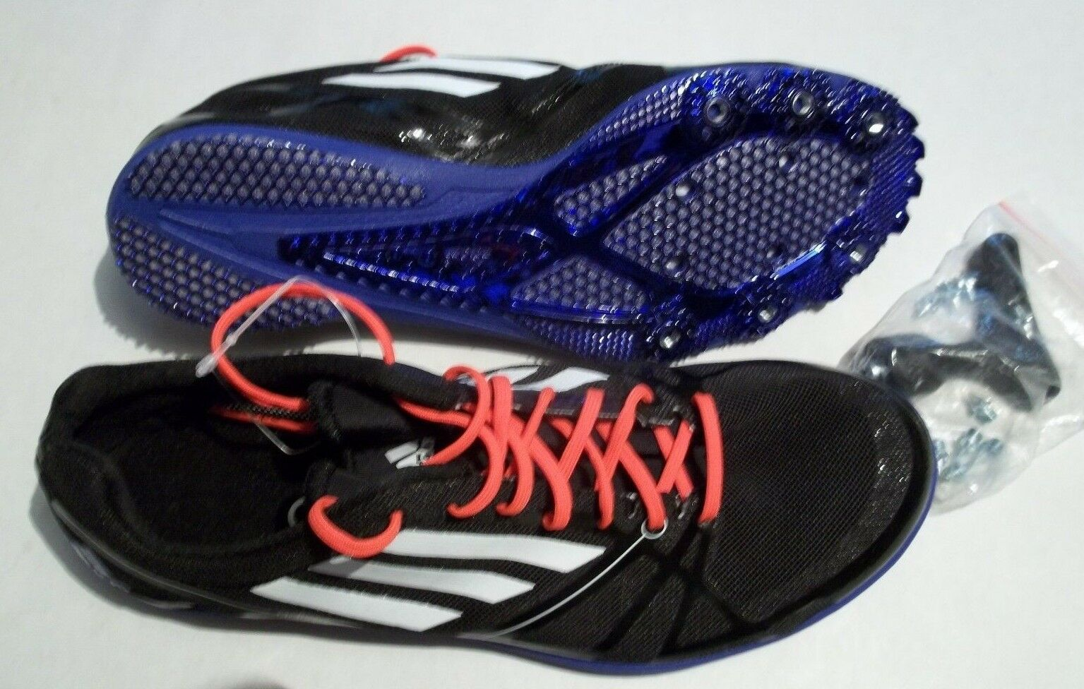 New Adidas Adizero Avanti 2  Men's Size 5.5 shoes + Spikes and Tool AF5679