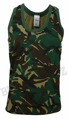 MENS SUMMER JUNGLE TREE PRINT GYM MUSCLE TANK CASUAL TOP VEST SIZE (SMALL - 5XL)