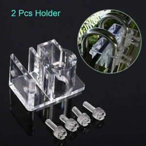 2-Tank-Acrylic-Pipe-Holder-Fix-Bracket-Hook-Aquarium-Lily-Co2-Pipe-Accessory