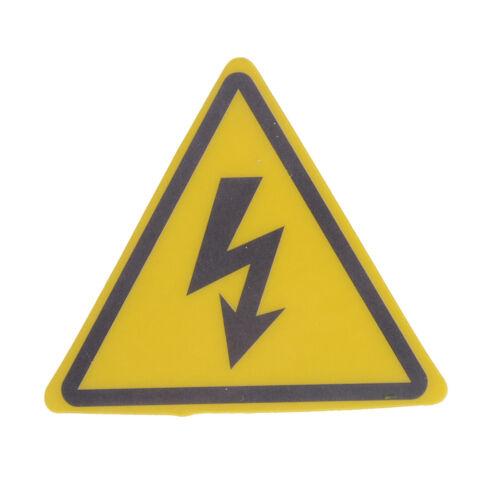 2PCS Danger High Voltage Electric Warning Safety Label Sign Decal Sticker P iv