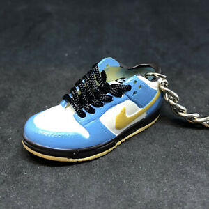 huge discount f4a8b 85013 Details about AIR DUNK LOW PRO SB HOMER SIMPSON BLUE 3D KEYCHAIN SNEAKERS  SHOES FIGURE 1:6 KEY