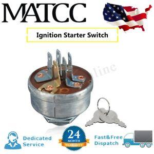 Lawn-Mower-Tractor-Ignition-Starter-Switch-amp-2-Keys-For-Husqvarna-Roper-Toro-US