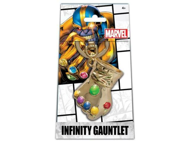 Jim Starlin Marvel Comic Thanos Infinity Gauntlet Keychain Previews Exc AVENGERS