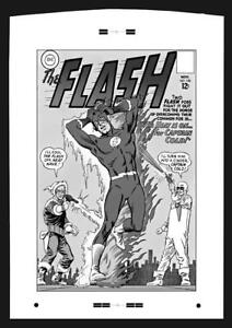 The-Flash-140-Cover-Production-Art-by-Carmine-Infantino-1st-Heat-Wave
