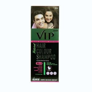 32861548c Image is loading VCare-VIP-Hair-Colour-Shampoo-5-In-1-