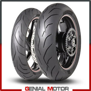 Dunlop-SportSmart-MK3-1207017-1805517-Set-Gomme-Moto-Pneumatici-Radiali-2019