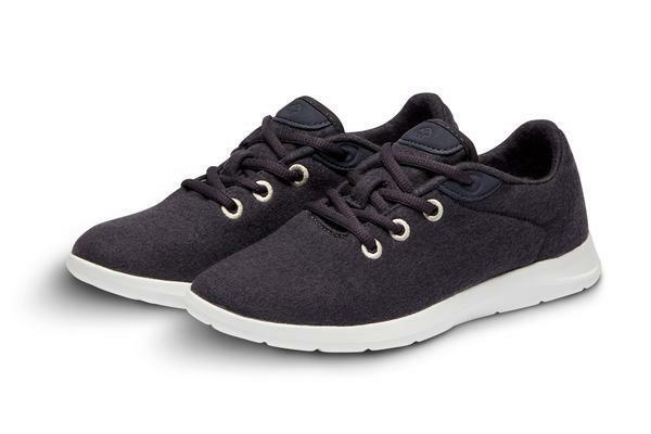 Merinos Men's Lace Up Merino Wool shoes Carbon Grey