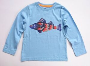 Boden ragazzi applique a maniche lunghe t shirt knight dragon orso