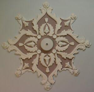 Rosa-De-Techo-Diseno-yeso-decoracion-del-hogar-estilo-victoriano
