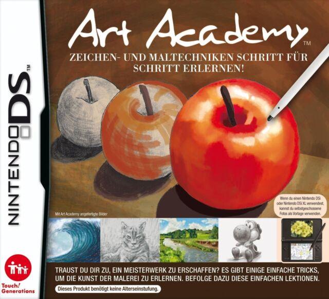 Art Academy: Zeichen und Maltechniken - Nintendo DS - Neu / OVP