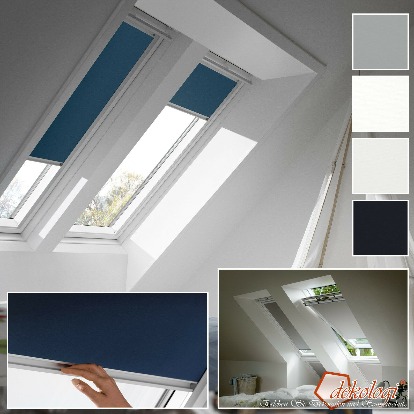 Velux ThermGoldllo DKL für GGU GGU GGU GPU GXU, neue Fenstertypen 2013 Verdunkelung Rollo   Umweltfreundlich  f1fe1a