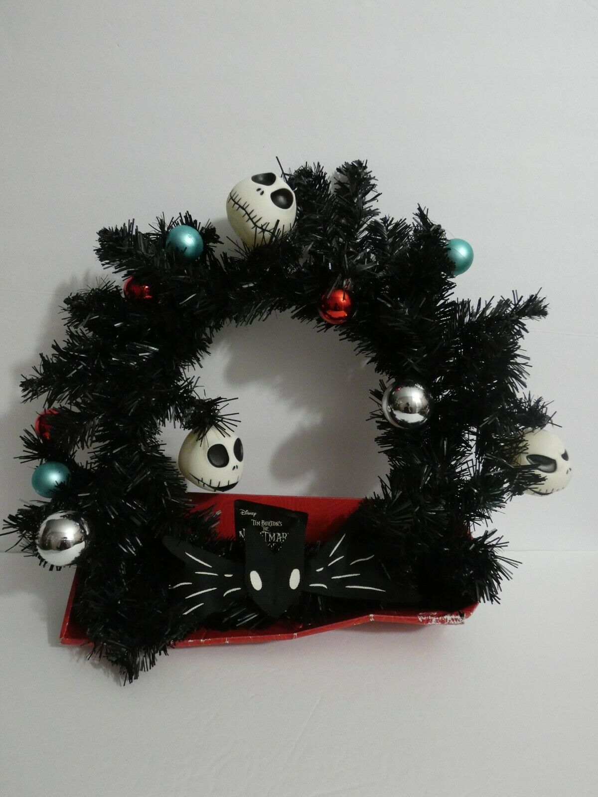 Disney The Nightmare Before Christmas Wreath Jack Skellington 2017 Edition For Sale Online Ebay