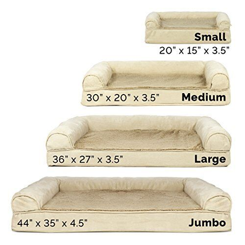 Big Dog Sofa Bed K9 Pet Warm Large Couch Great Great Great Dane Orthopedic Cushion Puppy XXL c9465a
