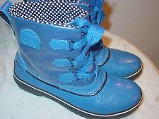 Womens Sorel Tivoli NL1691-409 Blue Waterproof Winter Boots! Size 8.5 $139.00