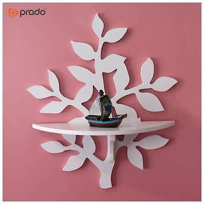 Home Decaration Tree Design Wall Shelf Display Shelf High Quality MDF