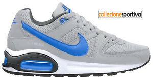 nike air max command blue and bianca