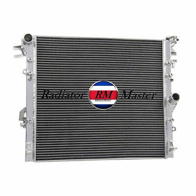 3 ROWS Aluminum Radiator 2007-2015 2014 08 Jeep Wrangler JK 3.6L 3.8L V6 EngIine