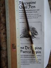 "Porcupine Quill Pen 6-7"" Pagan Witchcraft Altar Ink Spell Writing Rituals"