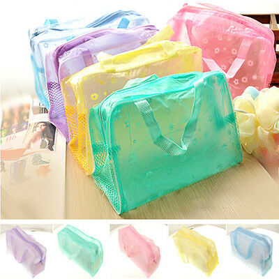 Makeup Cosmetic Portable Toiletry Travel Wash Toothbrush Pouch Bag Organizer J6P