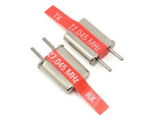 Traxxas AM 27mhz #2 Crystal Set Red Crystals Channel 2  27.045 TRA2032