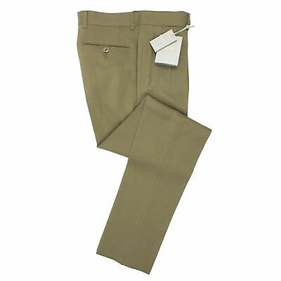 Active Nwt Tom Ford Olive Green Rayon Pleated Dress Pants Size 50/34 $1095 Modern Design Men's Clothing