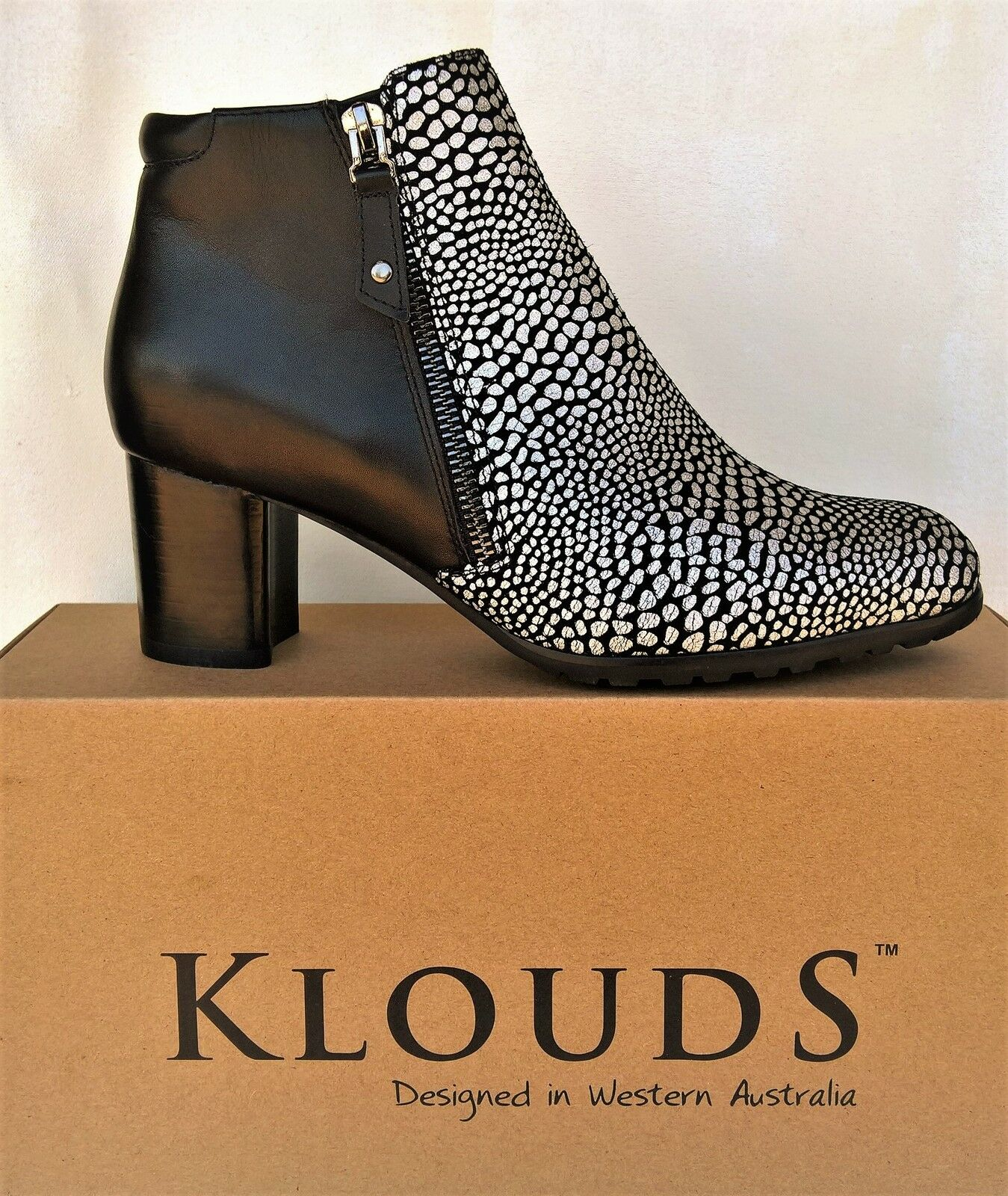Klouds shoes - Orthotic friendly comfort leather Boots Jasmine