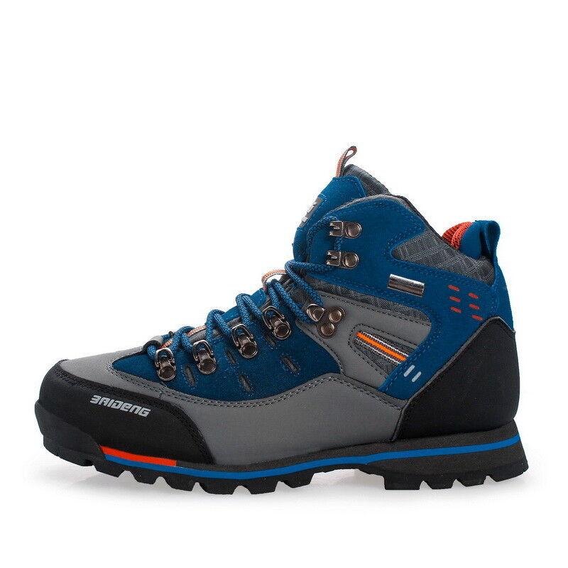 Men Hiking shoes Sports Trekking shoes Non Slip Outdoor Boots Fashion