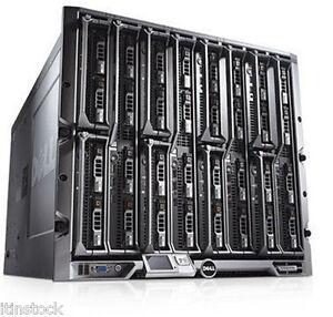 Dell PowerEdge M1000E Blade Enclosure with 8 x M600 4 core 3 33GHz