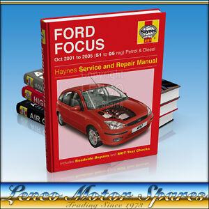 haynes manual ford focus mk1 1 4 1 6 1 8 2 0 petrol diesel oct 01 rh ebay co uk haynes manual focus mk3 haynes manual focus mk3